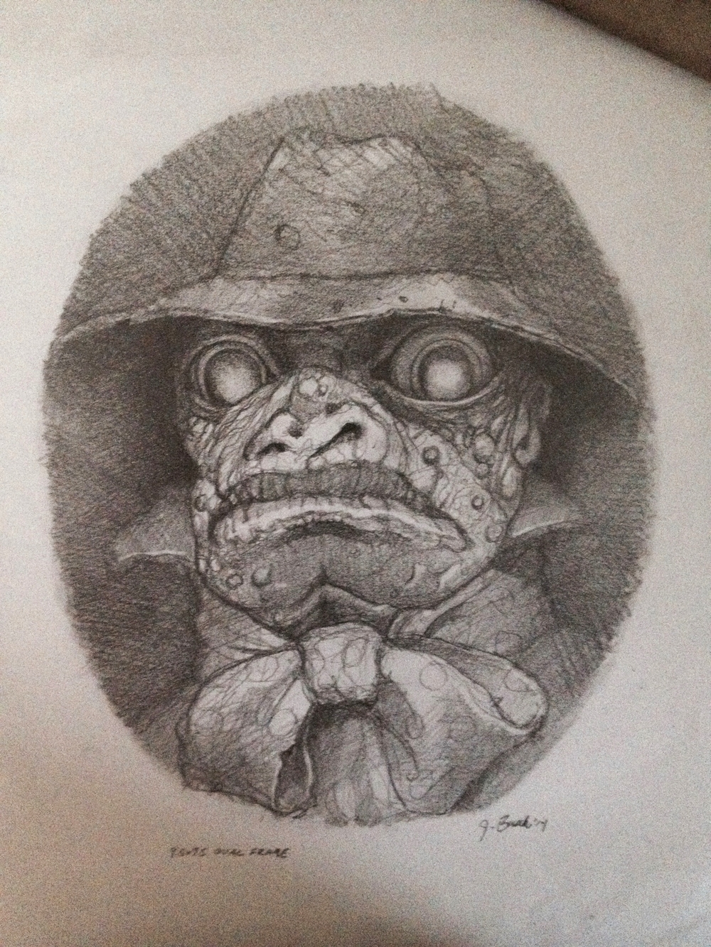 Innsmouth Founding Father Pencil