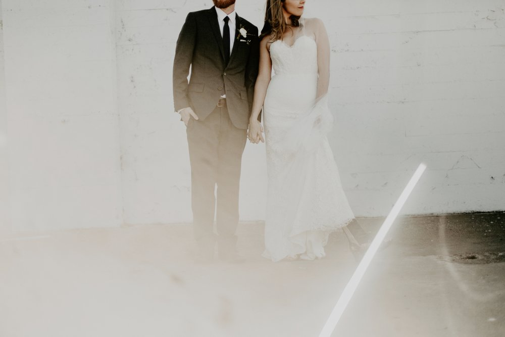 20's Inspired Seaside Wedding // Jessica + Patrick