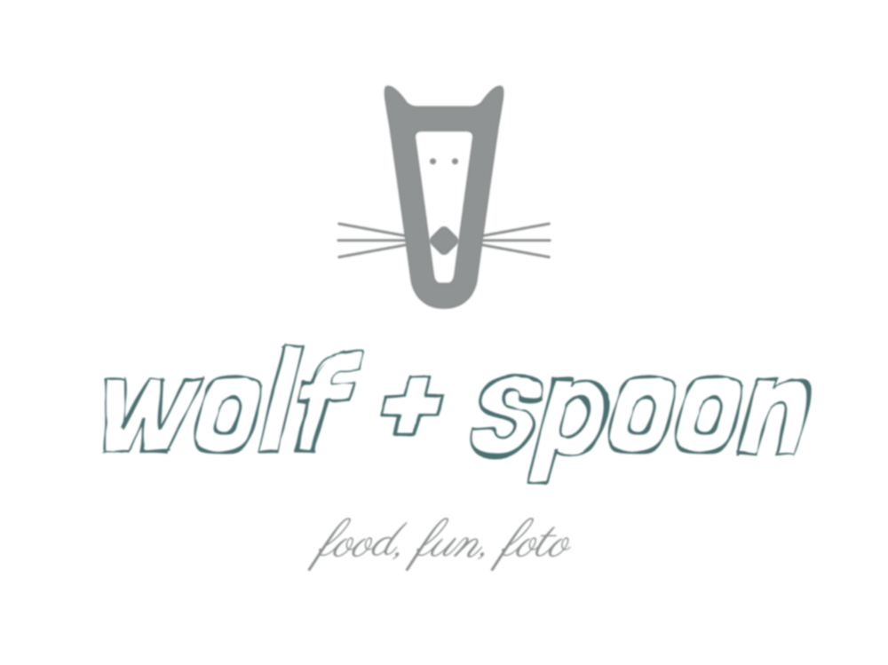 Wolf plus spoon