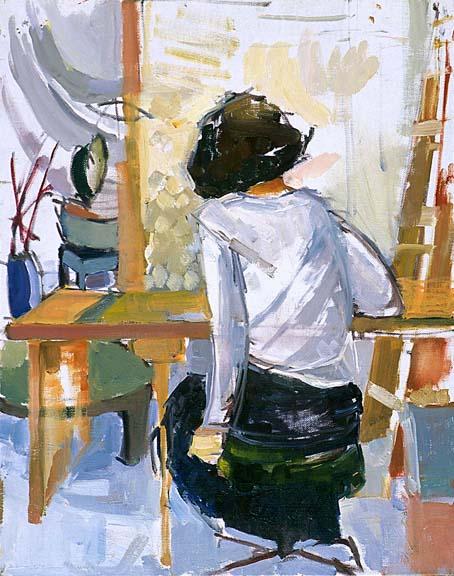 Manon  Oil on Canvas 1998