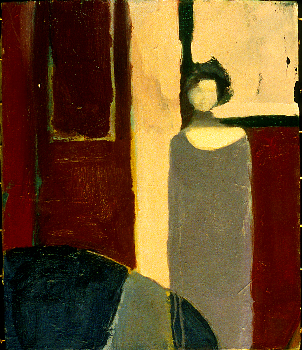 Appearing Woman  Oil on Canvas 1996