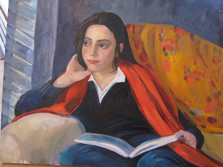 Gabriella  24 x 30 inches Oil on Canvas 2010