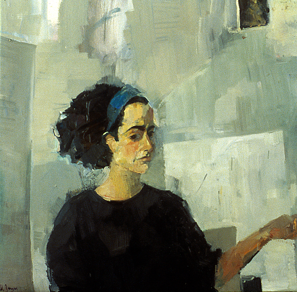 Marianne  30 x 40 inches Oil on Canvas 1994
