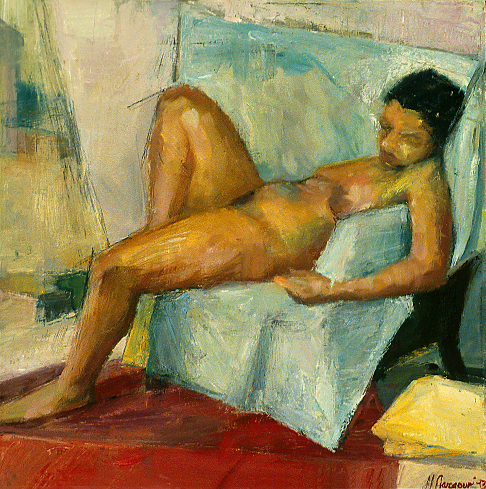 Reclining Beauty  Oil on Canvas 1994