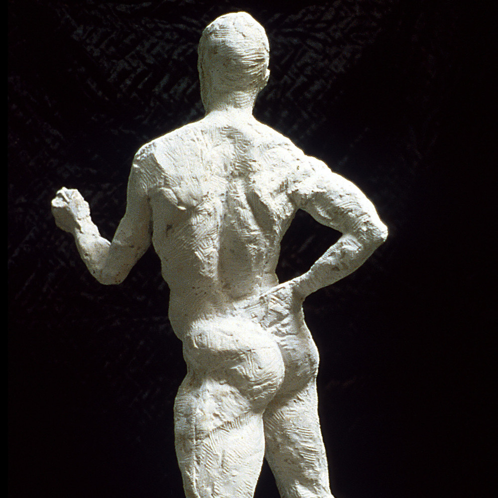 Brahms  26x 10 inches Plaster 2006