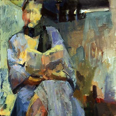 Reading Beauty  Oil on Canvas 1993