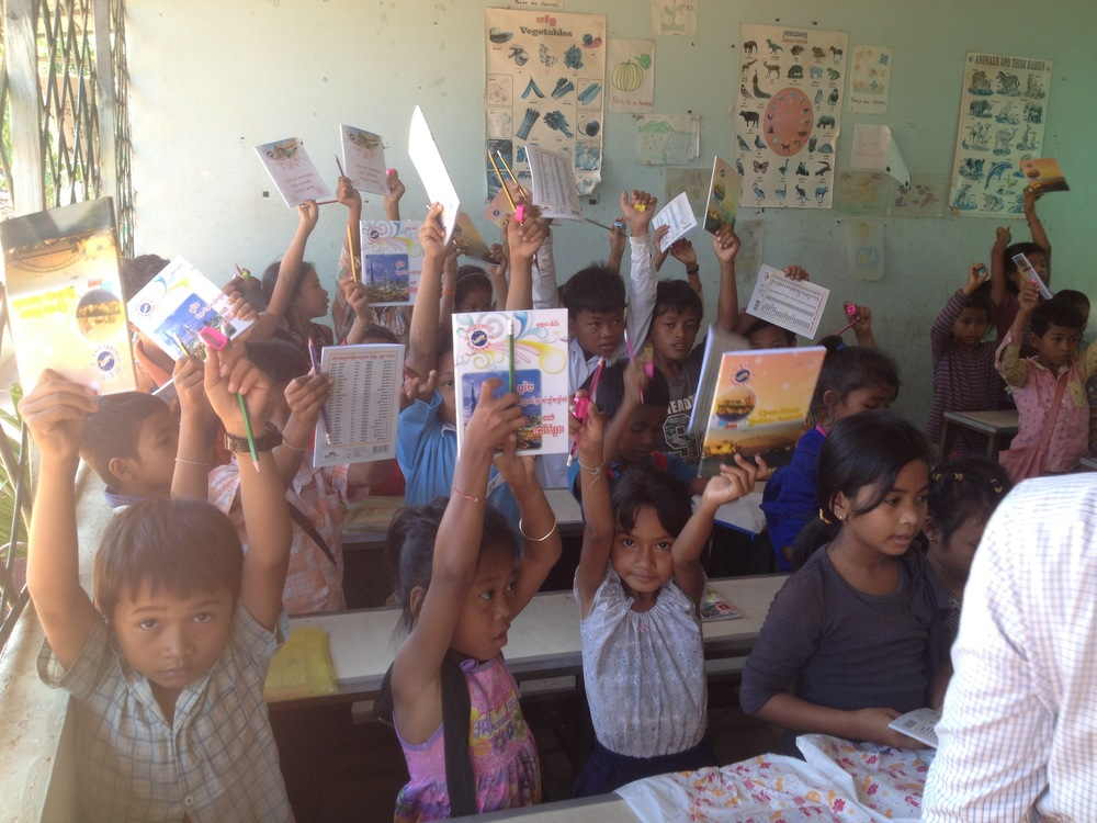 Class at Anlung Pi School