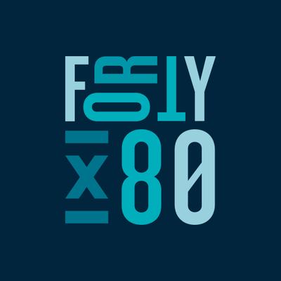 FortyX80 logo