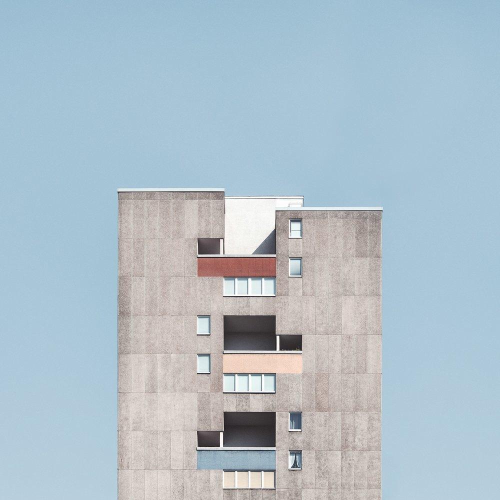 STACKED - TOWER BLOCKS OF BERLIN