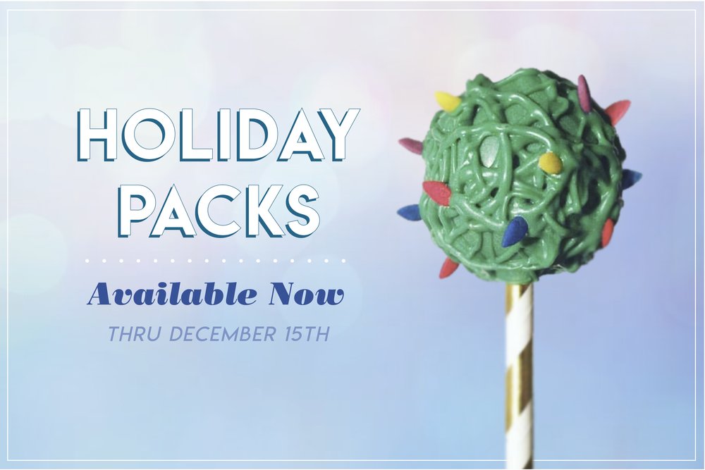 Holiday Packs - Milk and cookies? So last year.