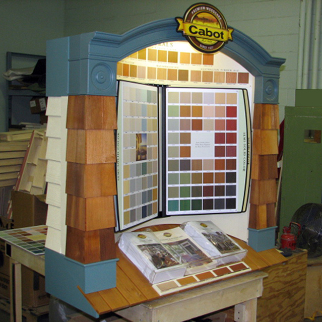 Cabot Exterior Woodcare Center