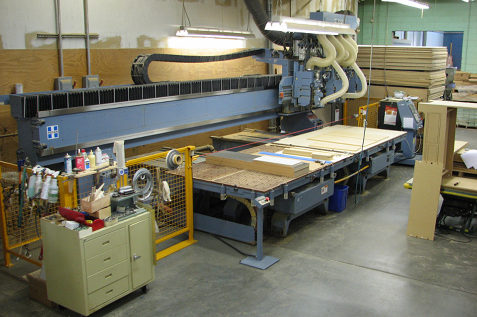 In-house CNC manufacturing