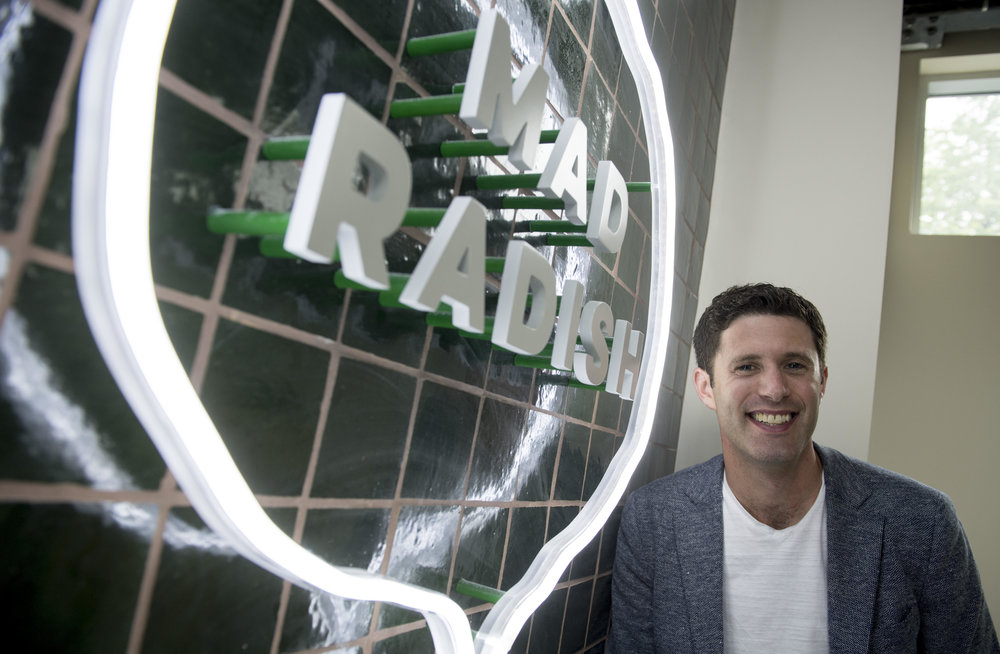<strong> David Segal </strong> <br> Founder <br> Mad Radish