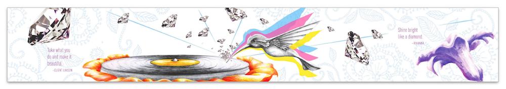 Mural 1: Hummingbird Record