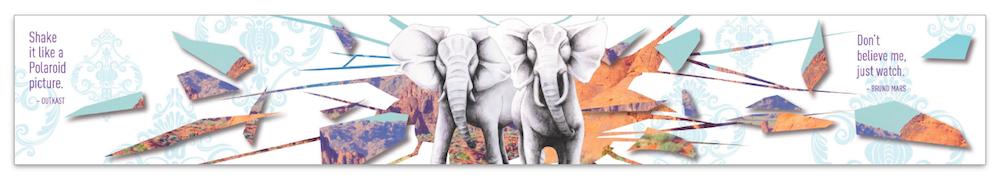 Mural 3: Elephant Shatter