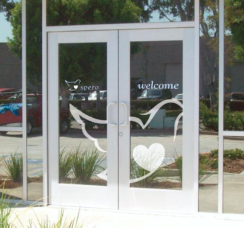 Company Office Entrance