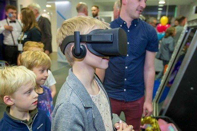 Our #virtualreality setup was a big hit with the kids at STV Children's Appeal last week.  We also do birthday parties and events for all ages.  Private message is or email info@capevr.co.uk for more info