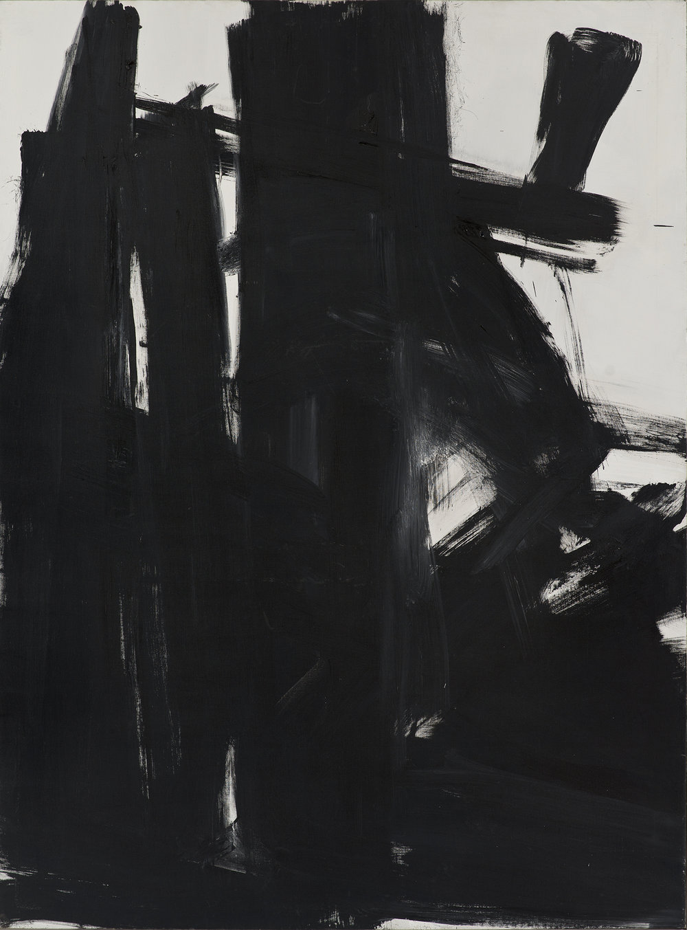 Kline, Black Iris (1961)