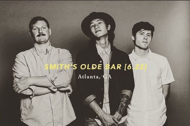 A week from today! We'll be playing at @smithsoldebar in ATL with our homies @thetutenbrothersband and @thefuturebabes. Mark your calendars and get on out there!