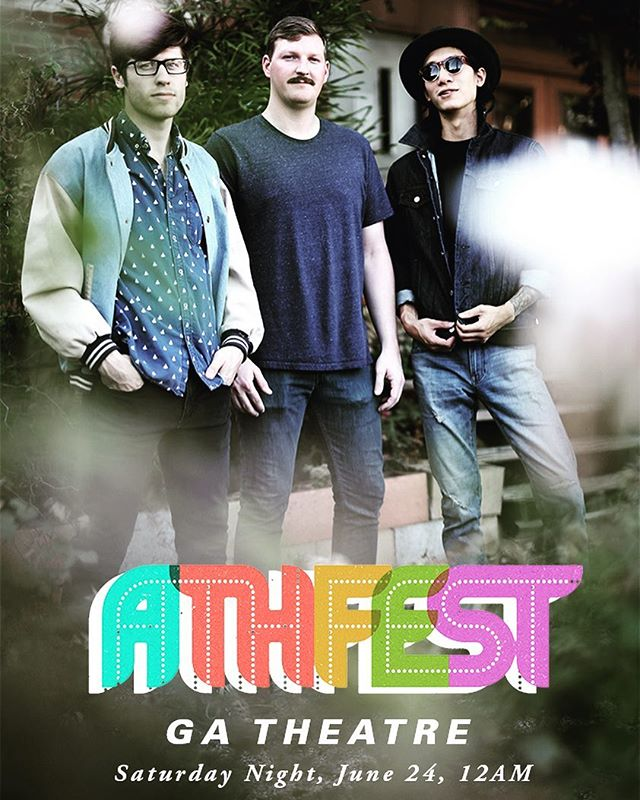 @athfestmusic we comin at ya! This weekend, Saturday headlining at MIDNIGHT in the @georgiatheatre. Get in with your club crawl wrist band or you can get a 10$ ticket at the door!