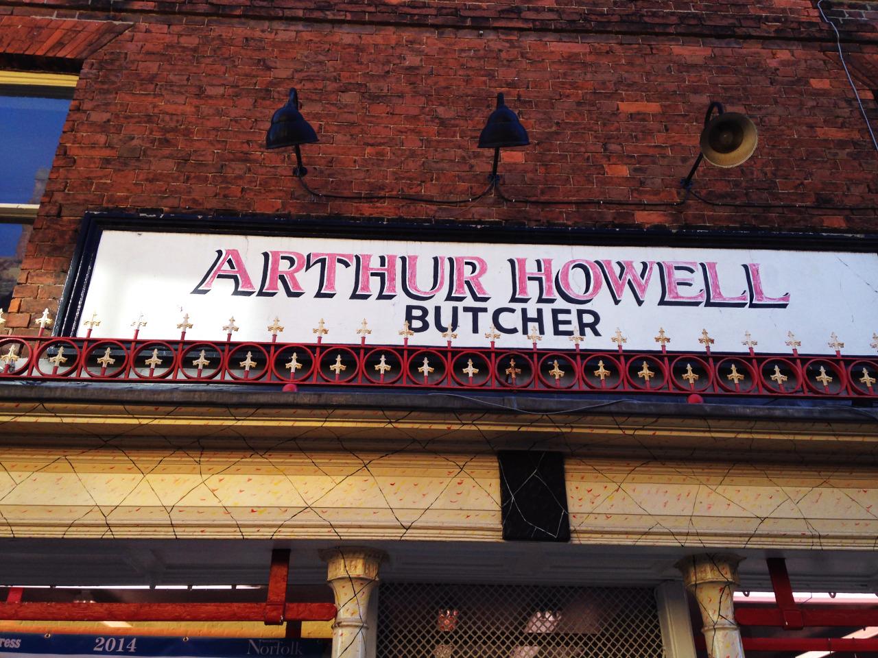 Butcher Shop  Norfolk, England