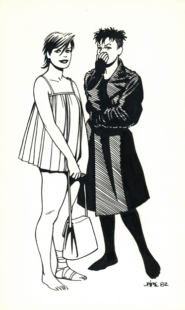 Maggie & Hopey   #HernandezBrothers #LoveandRockets