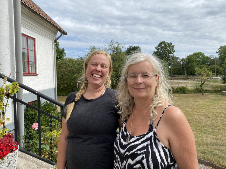 Cecilie Nergaard is the owner of Inner Wisdom, and invited me to the beautiful island Gotland.