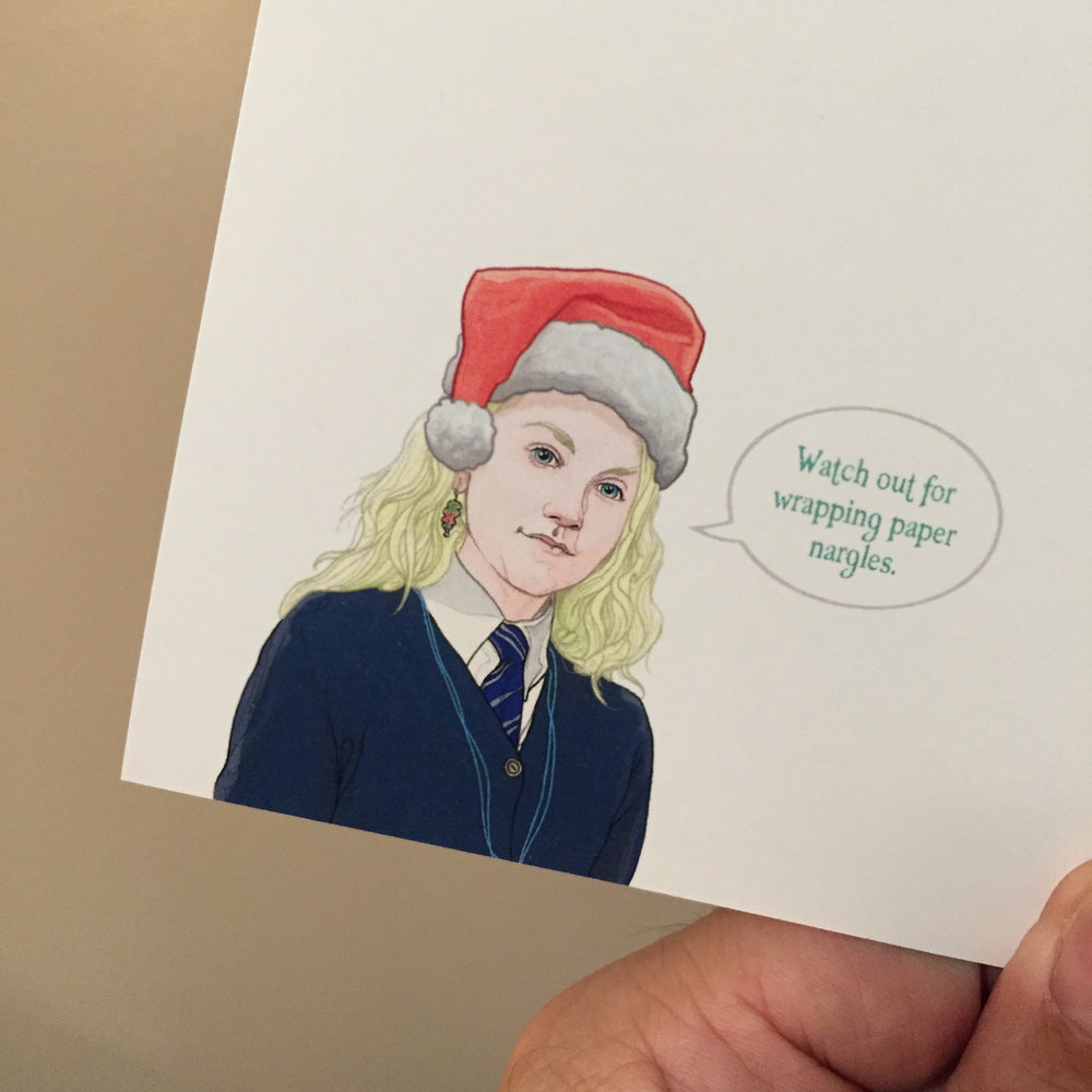 harry potter christmas card pj mcquade 4jpg