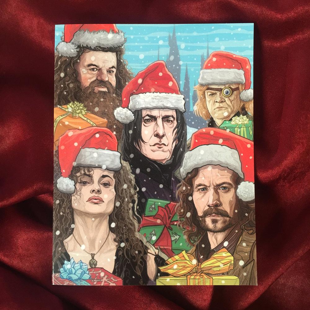 harry potter christmas card pj mcquade 2jpg