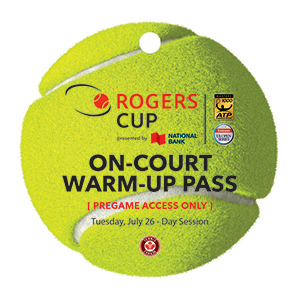 Fan on-court pass