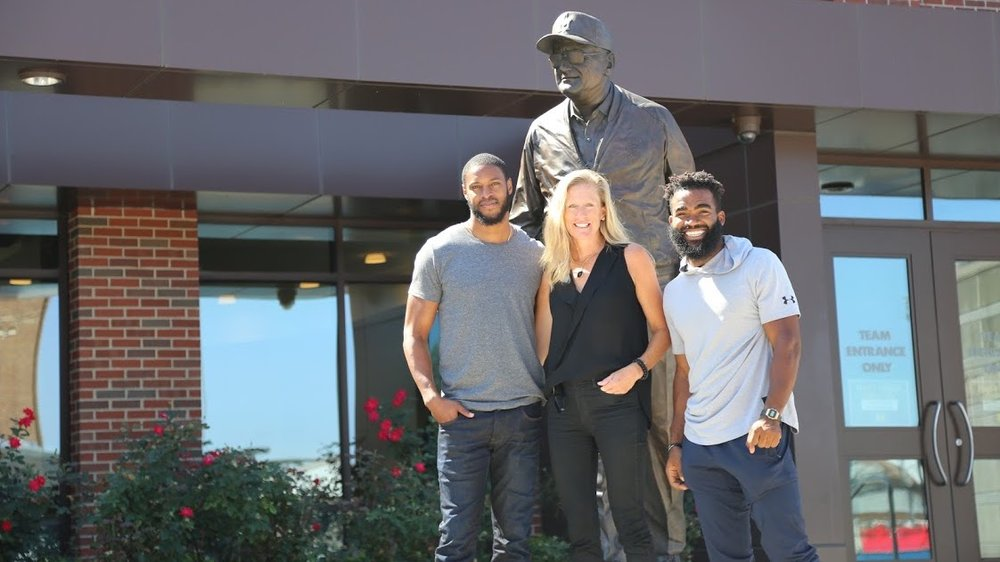 Alan Ball, Courtney Altemus, and Rashad Campbell of Team Altemus. (Courtesy of Courtney Altemus)