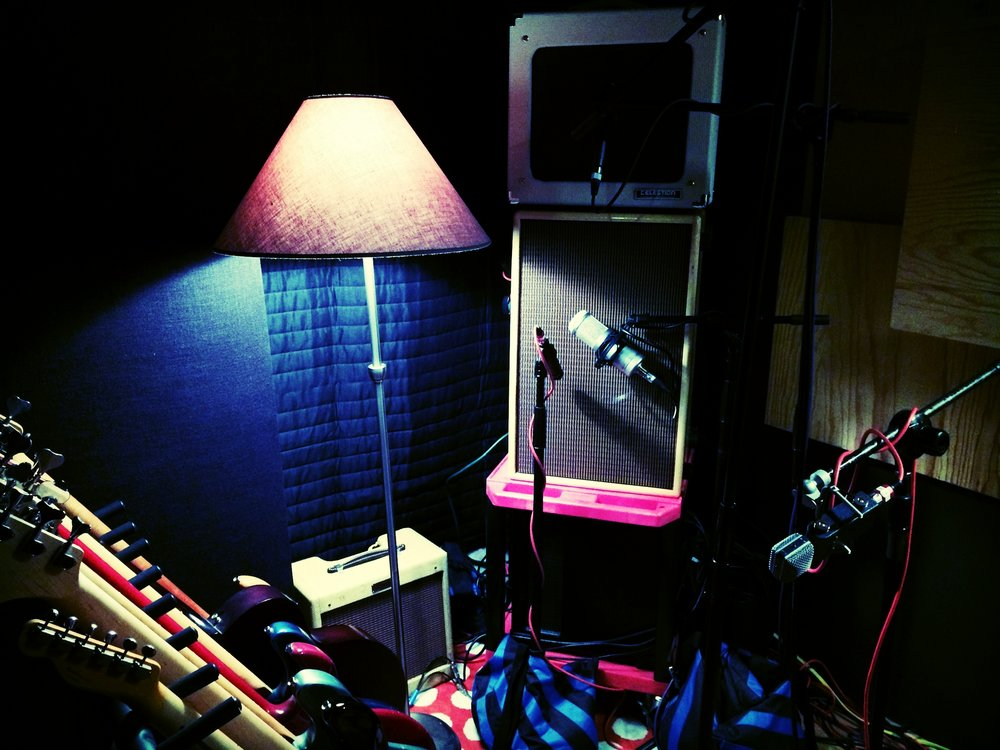 Amp and Vocal Booth