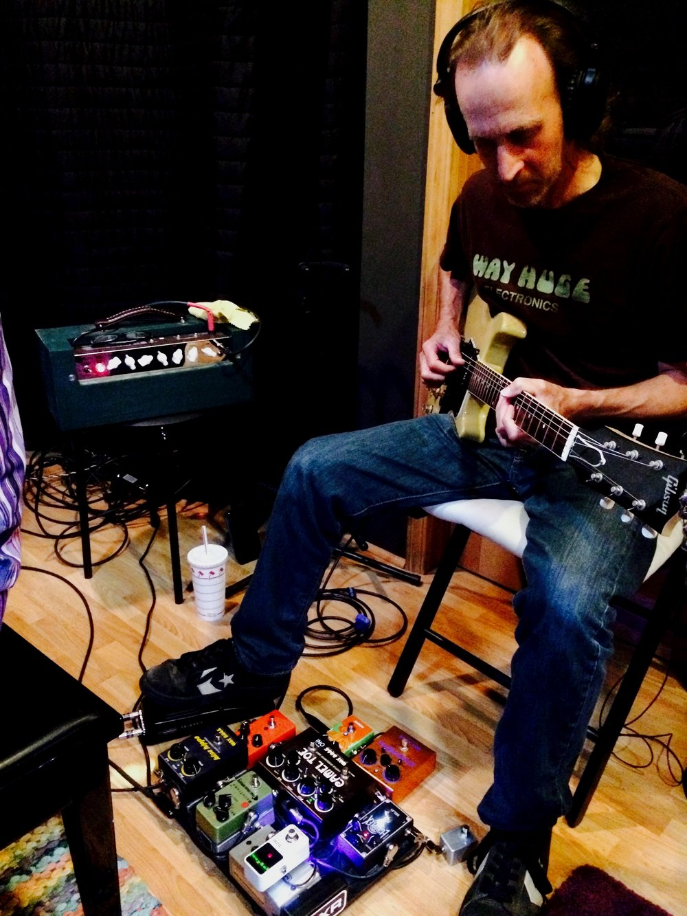 Jamie Kime Tracking Guitar