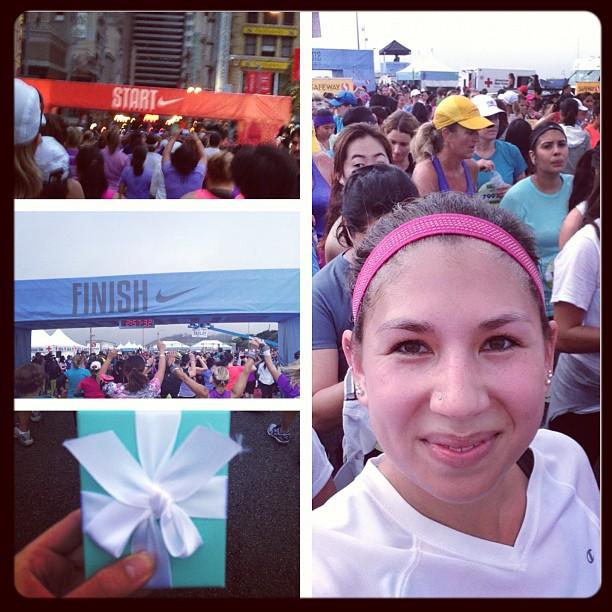 First half marathon! 2:35:03, 11:51 pace!