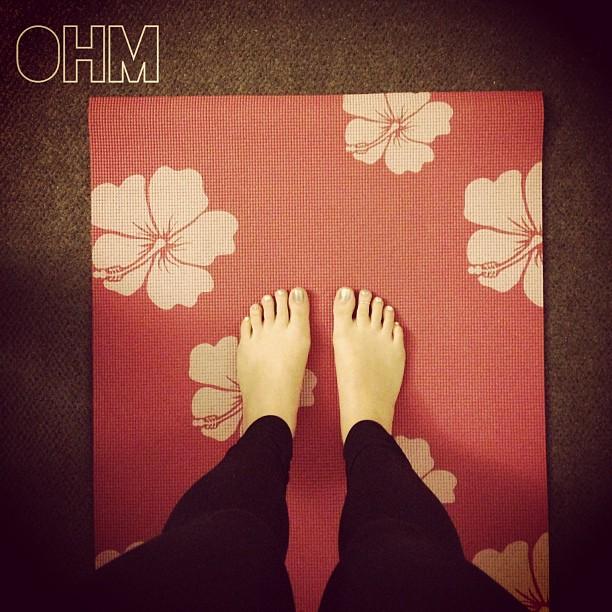 Yoga time.