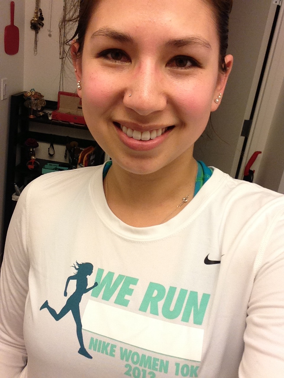 Sweat is beautiful! Post-workout flush = natural blush!
