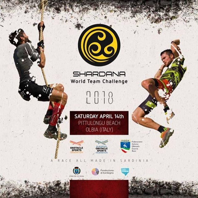 In April #shardanachallenge2018 is on.  A #team ocrrace in #Sardina teams from all over the world will attend. Race where the team have to collaborate to pass obstacle. Sounds like great fun.  _____________________________________________ #MITtoughteam #MITfitness #optimera  #OCRninjacenter #Toughest #OCRTEAM #shardanaworldteamchallenge