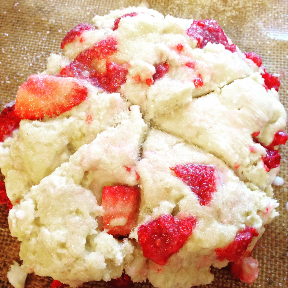 strawberryraspberryscones