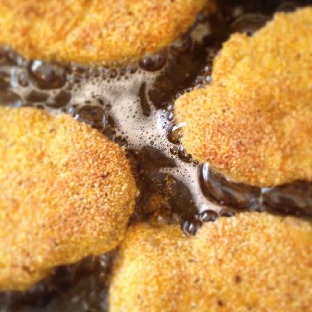 polentacrustedchickencutlets