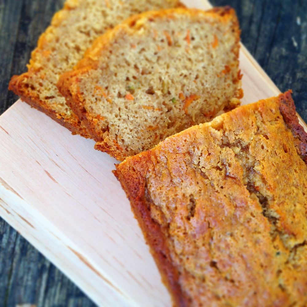 carrot zucchini Banana Ginger Bread