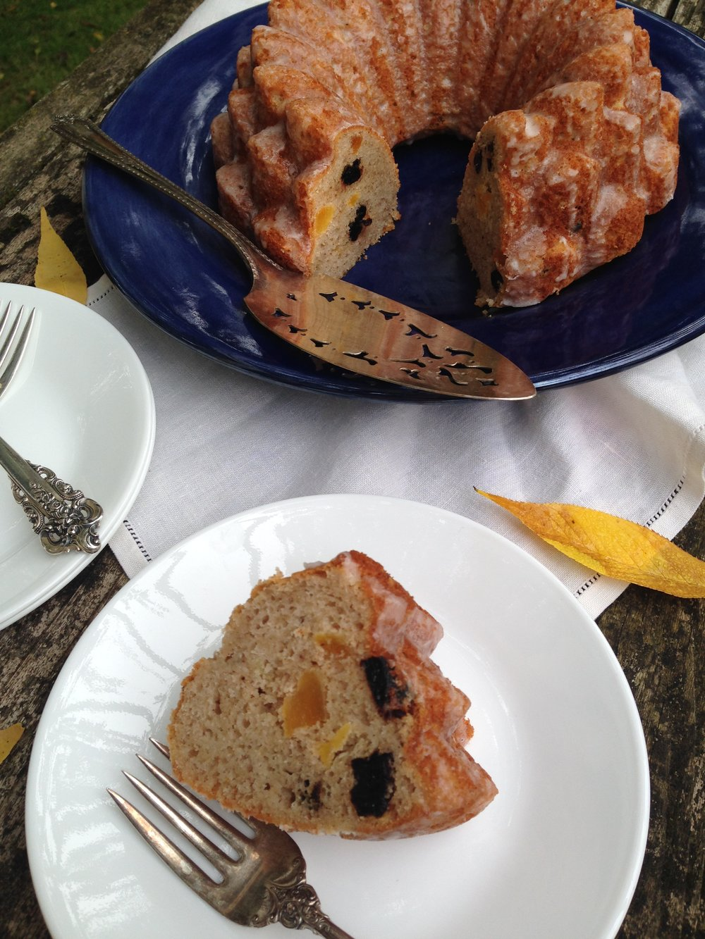 Apricot and Cherry Election Poundcake