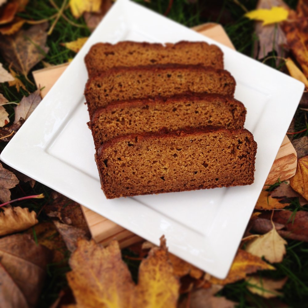 spiced apple cider pumpkin bread
