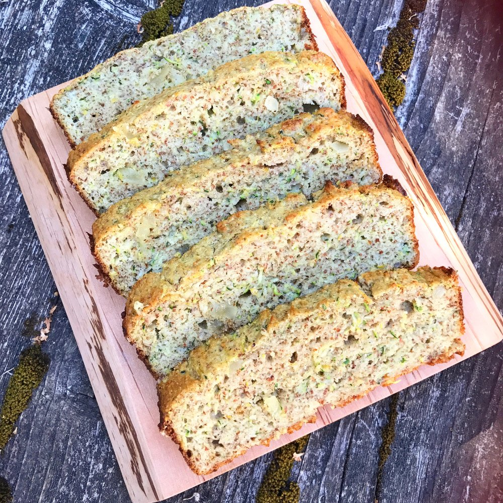 Lemon Ginger Zucchini Bread