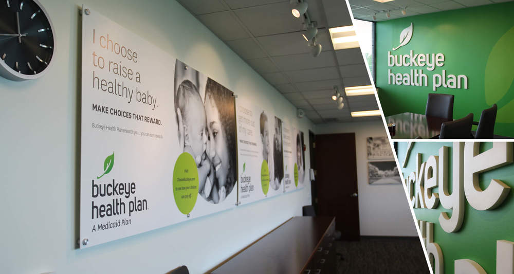 Corporate Interior Branding  Manufactured, Installation