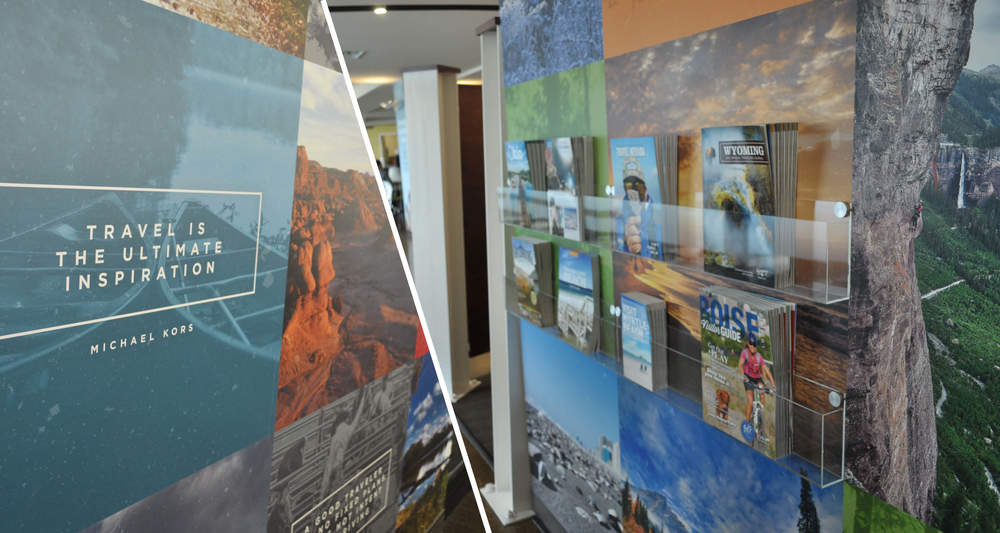 Marketing Displays  Wall Coverings, Racking