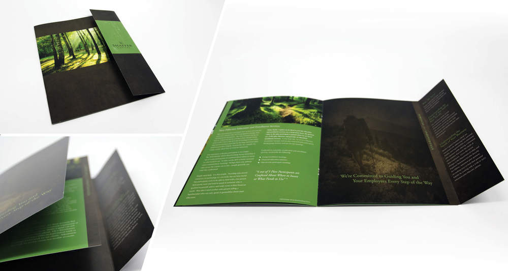 Marketing Brochure  Saddle Stitch, Gatefold