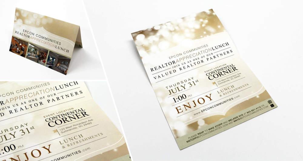 Foldover Invitation  Design