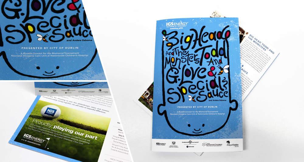 Event Program  Design, Saddle Stitch