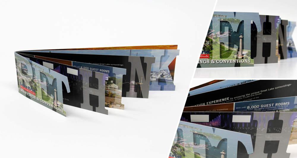 Marketing Brochure  Multi-Page, Die Cut