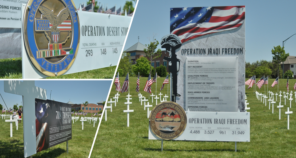 Memorial Displays  Design, Installation